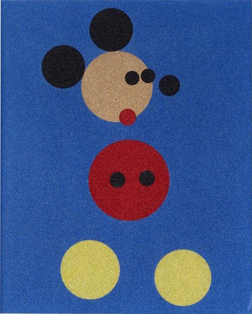Damien Hirst, 'Mickey (Blue Glitter)', 2016, Taglialatella Galleries