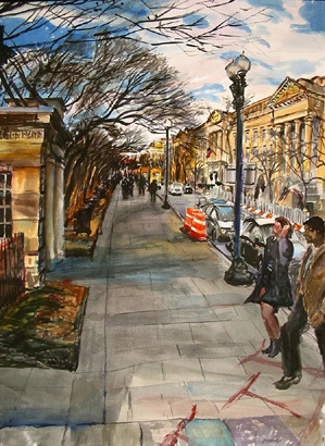 , '15th Street & Constitution Avenue, NW,' , Zenith Gallery