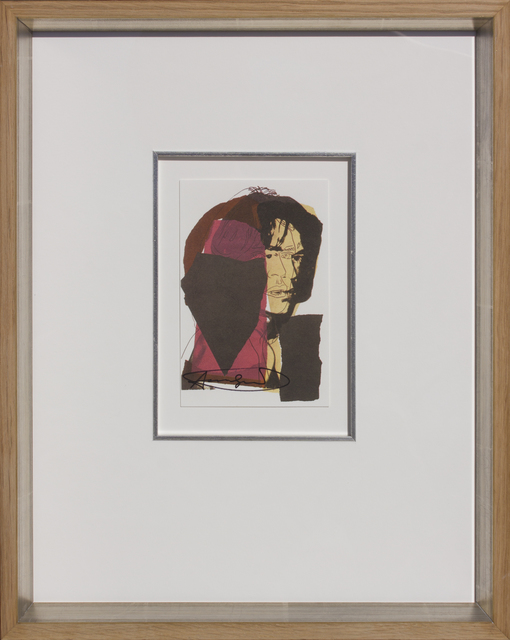 Andy Warhol, 'Mick Jagger, 1975-01 ', 1975, HOHMANN