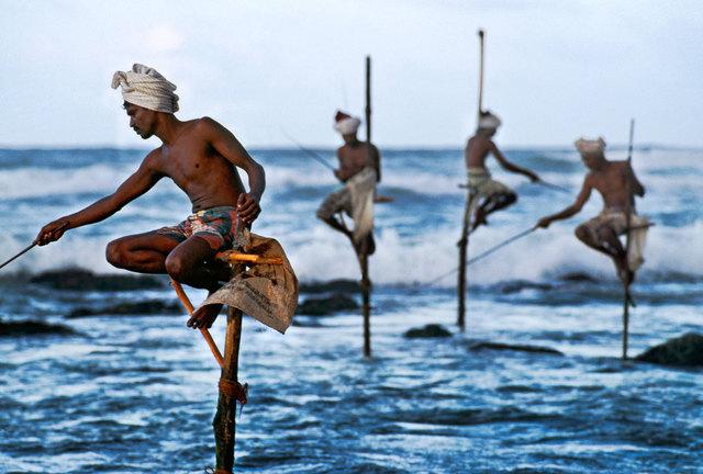 , 'Stilt Fishermen,' 2001, Cavalier Galleries