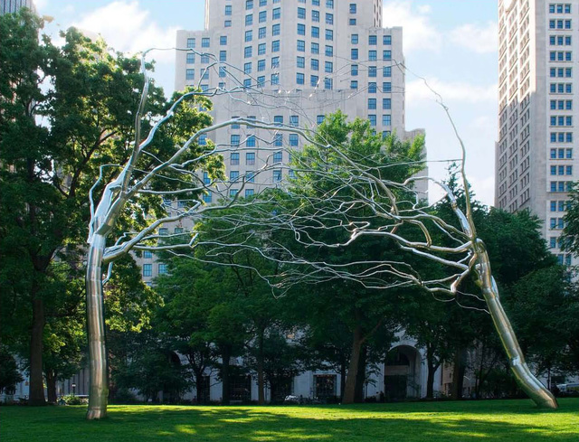 , 'Conjoined,' 2007, Madison Square Park