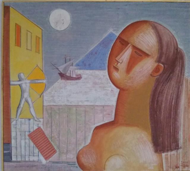 , 'L'arciere e la piramide,' 1962, Lattuada Studio