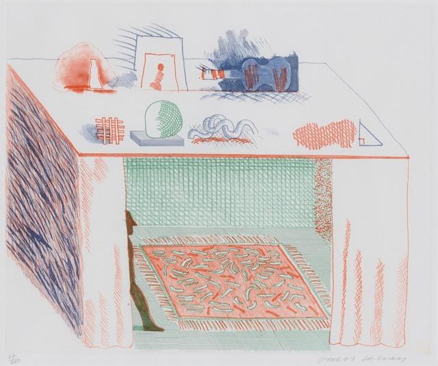 David Hockney, 'In A Chiaroscuro (S.A.C. 207; Tokyo 186)', 1976-77, Doyle