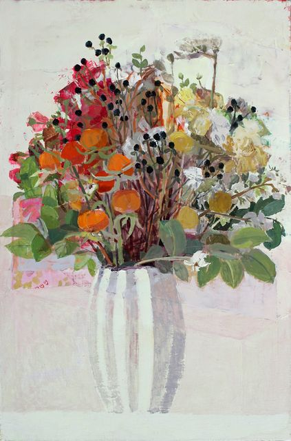 , 'Still Life with Flowers,' 2015, Thomas Deans Fine Art