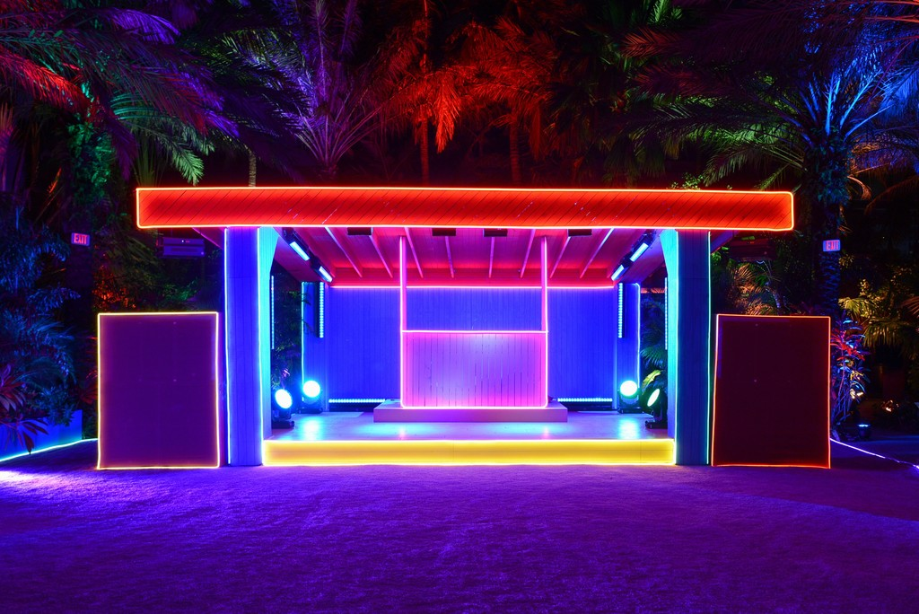 """The Prada Double Club Miami"" A project by Carsten Höller presented by Fondazione Prada Miami, 5-7 December 2017 Photo: Casey Kelbaugh Courtesy Fondazione Prada"