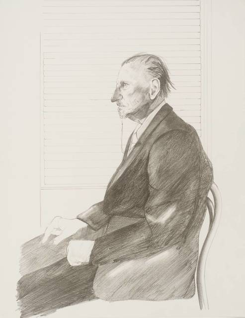 , 'Portrait of Felix Man (The Print Collector) 'Hors Commerce' Signed & inscribed by David Hockney,' 1969, Mr & Mrs Clark's