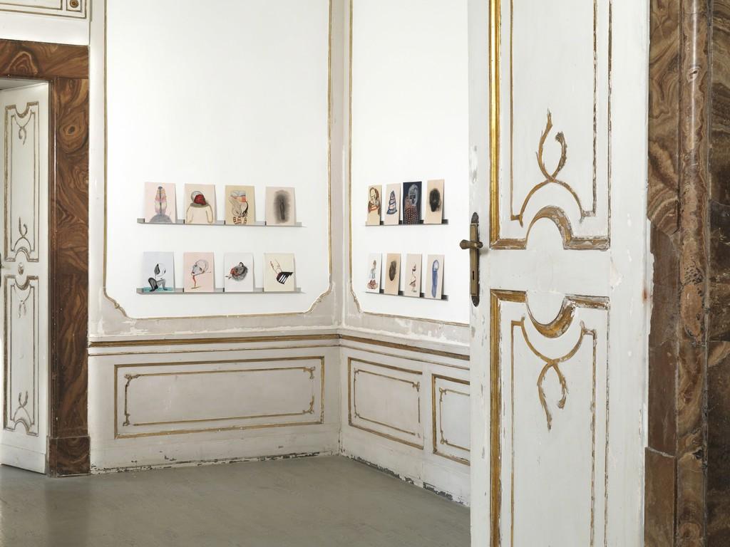 Victoria Civera - partial view of the exhibition - November 2013 -  Galleria Alfonso Artiaco, Napoli