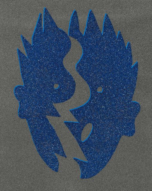 , 'Split Blue,' 1996, Galerie Kovacek & Zetter