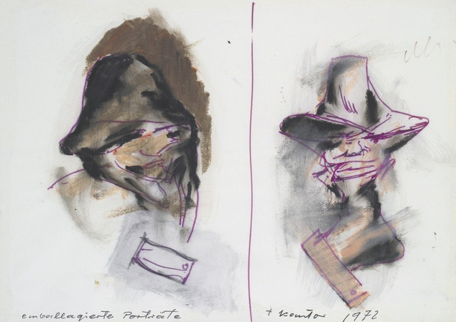 , 'Portraits- wrappings ,' 1972, Galerie Isabella Czarnowska