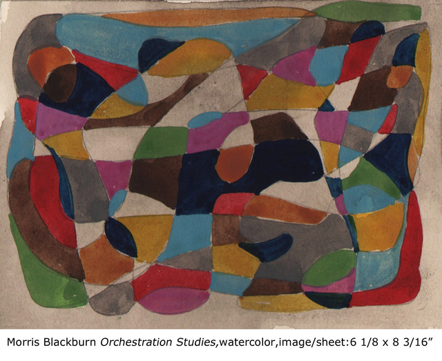 , 'Orchestration (study, blues),' 1947, Dolan/Maxwell