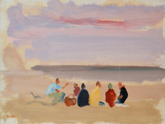 , 'Beach Picnic with Matthiew,' 1995, Bookstein Projects