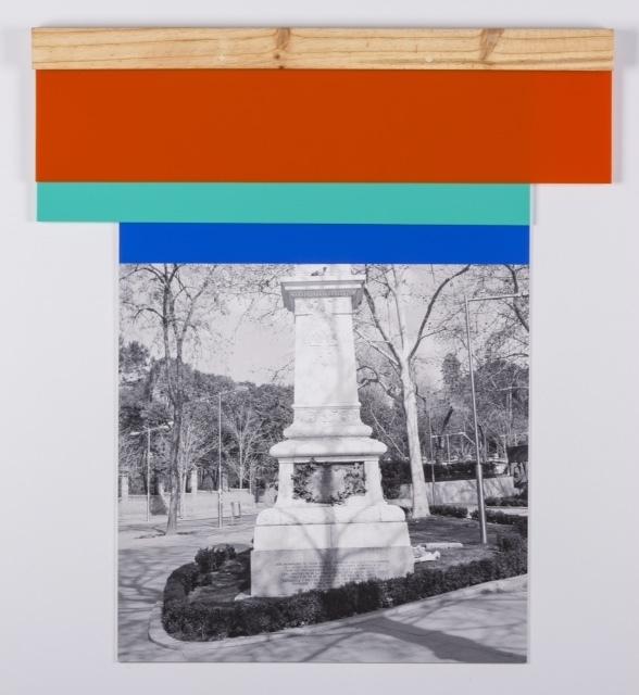 , 'Descolonización Azul,' 2016, Galería de la Oficina