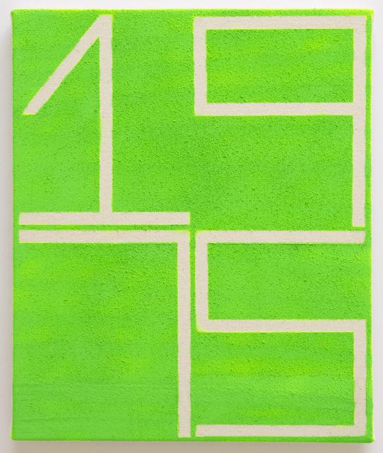 , 'Green 1975,' 2015, Pierogi