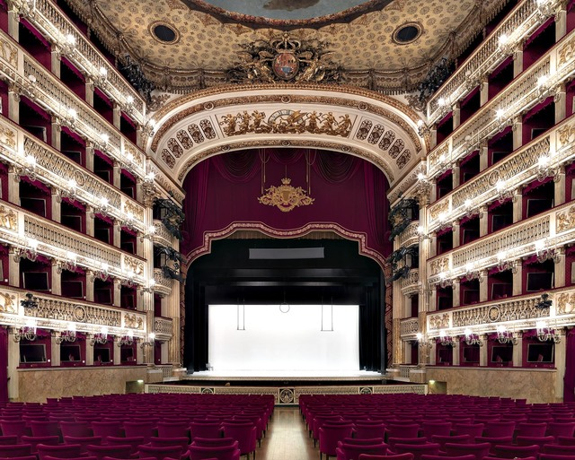 Massimo Listri, 'Teatro Sao Carlos, Lisbon, Portugal', 2017, Photography, Chromogenic Print - Framed, CHROMA GALLERY