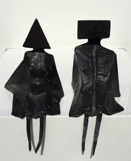Lynn Chadwick, 'Sitting figures', 1976, Okker Art Gallery