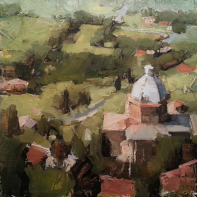, 'Cortona,' 2018, Sue Greenwood Fine Art
