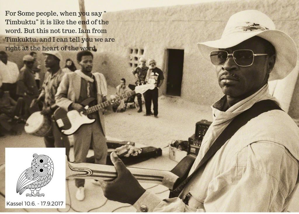 "Catalogue back Page for ""Proud and Well."" Credit: Galerie Medina's Igo Diarra and Retro Africa's Dolly Kola-Balogun."