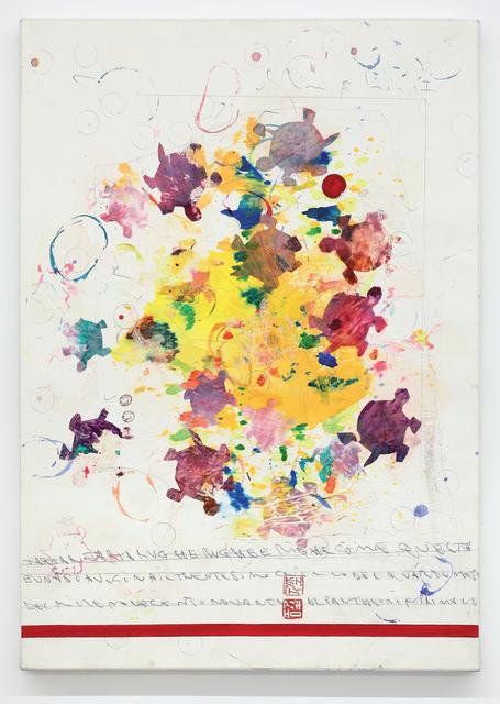 Alighiero Boetti, 'Senza titolo (Tartar tartarughe rughe e righe…)', 1990, Dep Art Gallery