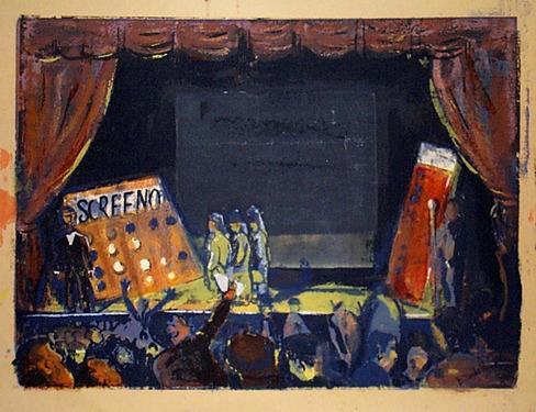 , 'Screeno,' ca. 1936, David Richard Gallery