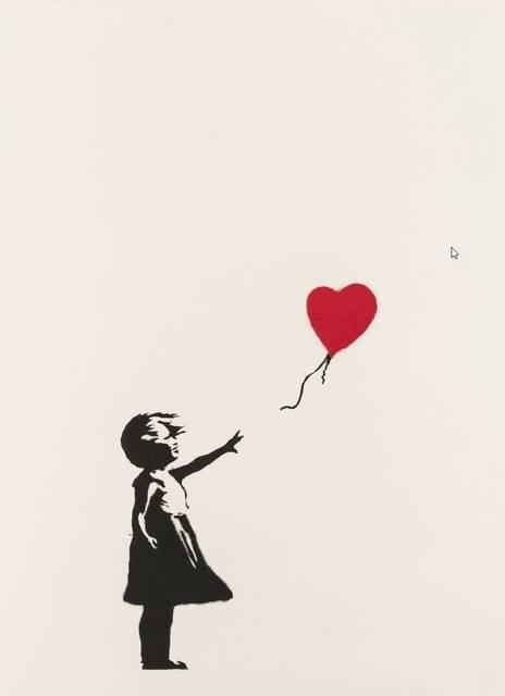Banksy, 'Girl With Balloon (Signed)', 2005, Print, Screen Print, Andipa