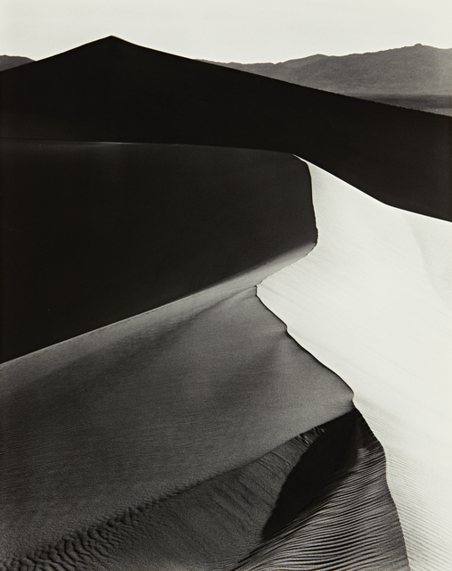 , 'Sand Dunes, Sunrise, Death Valley National Monument, California, c. 1948,' ca. 1948, Robert Mann Gallery