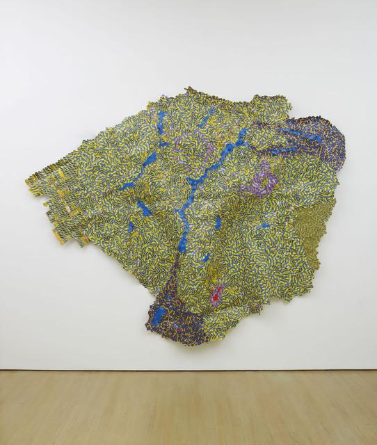 El Anatsui, 'Wet,' 2012, Jack Shainman Gallery