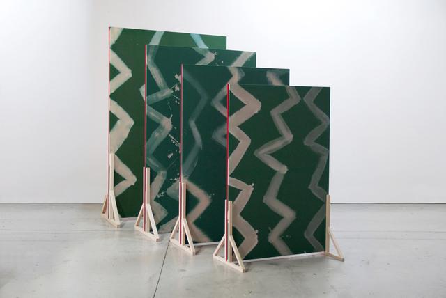 , 'Multiplicación cruzada (view 2),' 2015, Josh Lilley