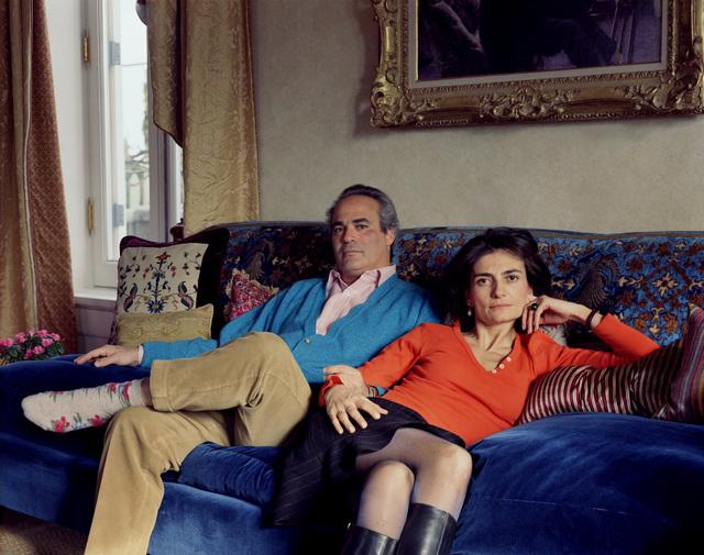 Thomas Struth, 'Charles and Laurence, New York 2001', 2001, Photography, Chromogenic Print, Galerie Greta Meert