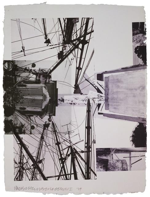 Robert Rauschenberg, 'Rookery Mounds - Steel Arbor', 1979, Gemini G.E.L.