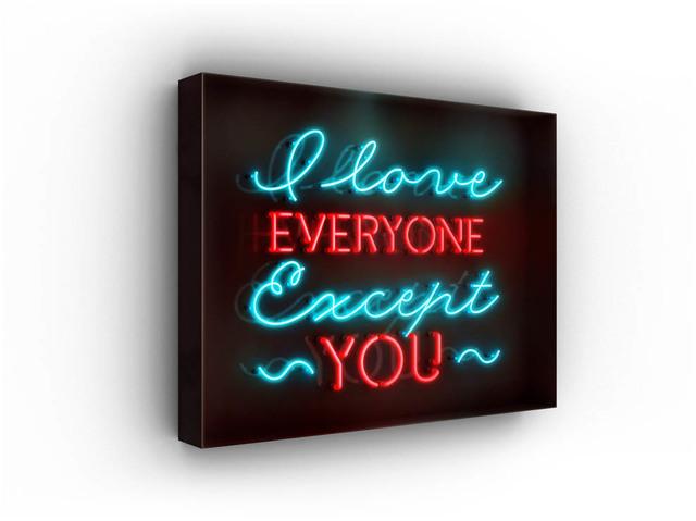 David Drebin, 'I Love Everyone Except You', 2016, Isabella Garrucho Fine Art