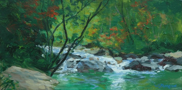 , 'Carolina Creek Rapids,' 2018, Shain Gallery