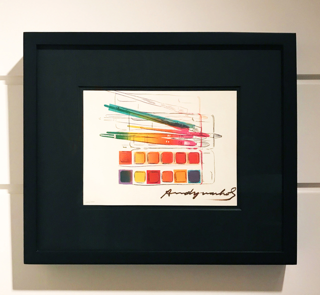Andy Warhol, 'Watercolor Paint Kit with Brushes', 1982, Arton Contemporary