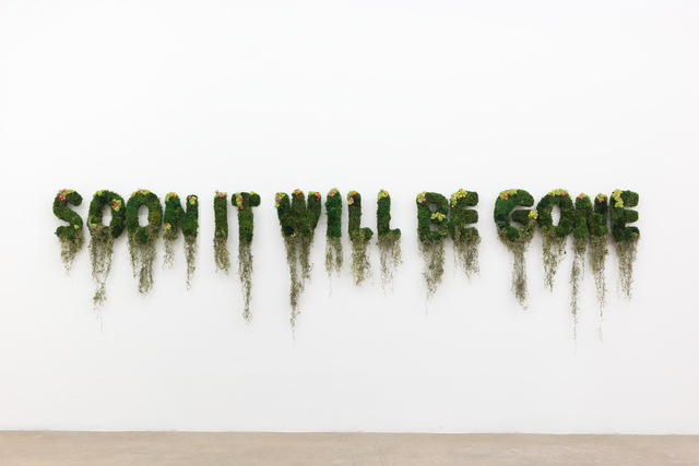, 'Soon It Will Be Gone,' 2017, Spinello Projects