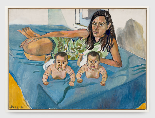 , 'Nancy and the Twins (5 Months),' 1971, Xavier Hufkens