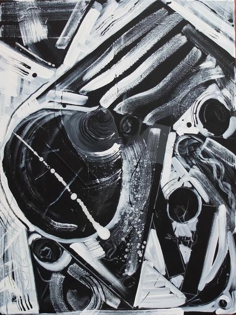 , 'Jockeyed B/W Clams & Blueberries ,' 2017, ArtGiverny