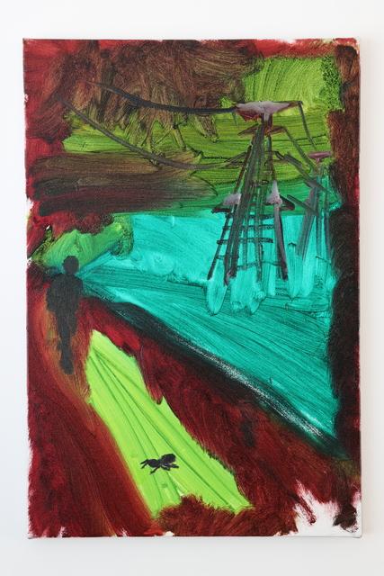 , 'Steel Tower, Ant, Human,' 2019, LOKO GALLERY