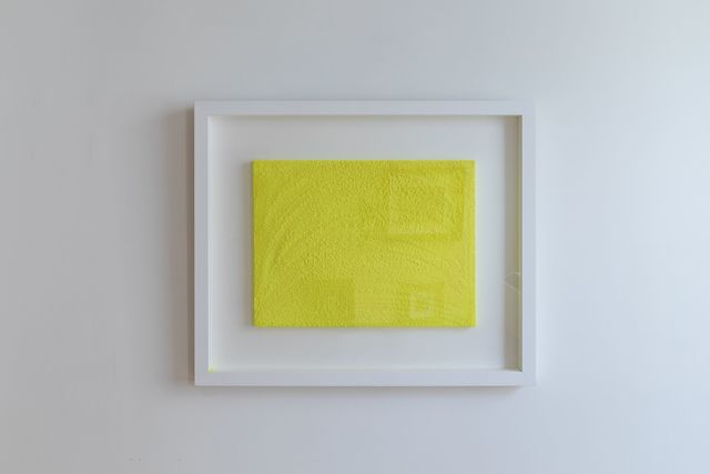 , 'Glowing Chartreuse Yellow Ever Essence,' 2013, ABXY