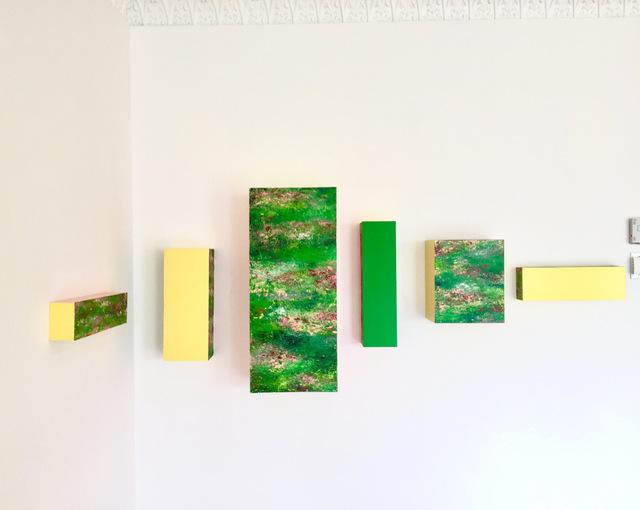 , 'Magic Color Bursts,' 2017, Yi Gallery