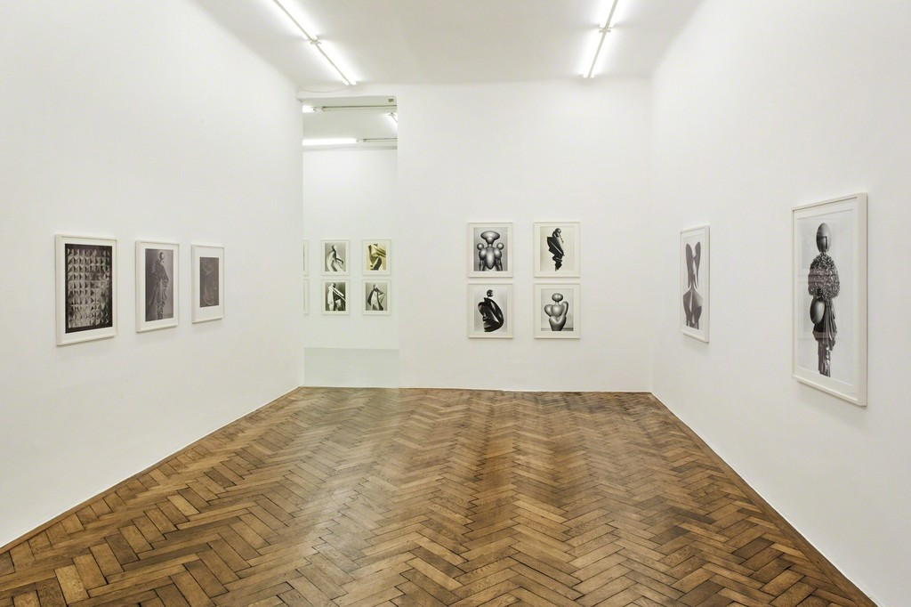 exhibition view: Tina Lechner, Galerie Hubert Winter, Vienna