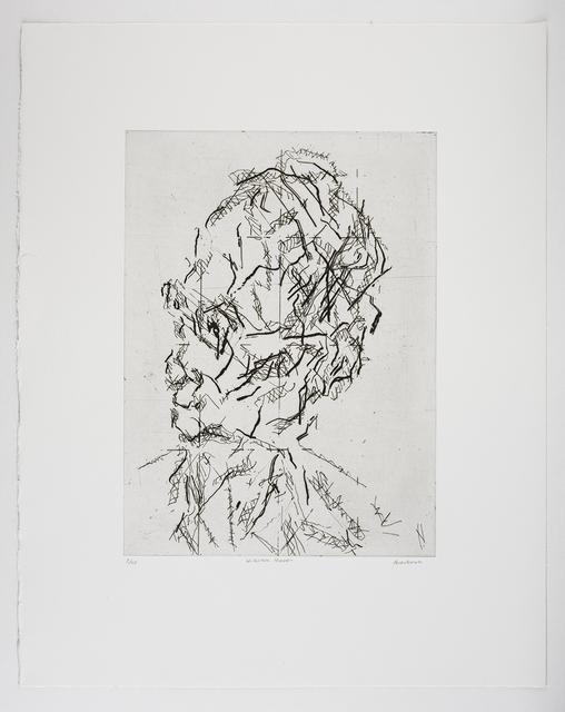 Frank Auerbach, 'William Feaver', 2007, Marlborough Graphics