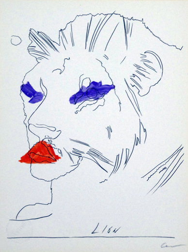 Andy Warhol, 'Lion', ca. 1970, Gallery TAGBOAT