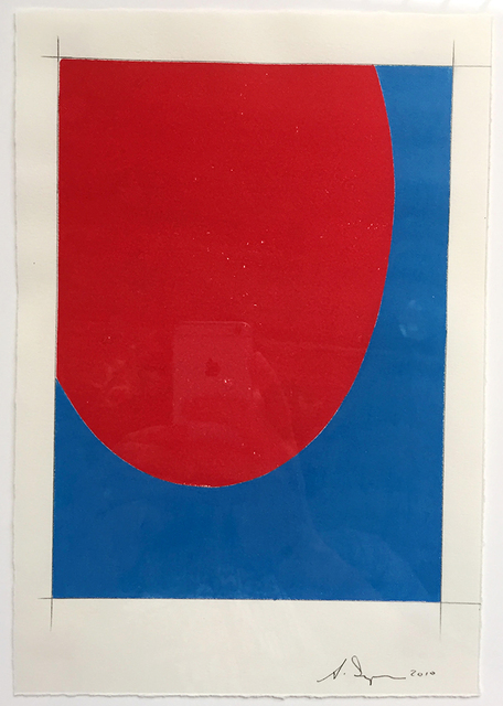 , 'Saarinen Table (red/blue) ,' 2010, HATHAWAY | Contemporary Gallery