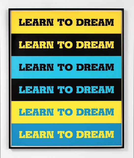 , 'Learn to Dream,' 2011, Mai 36 Galerie