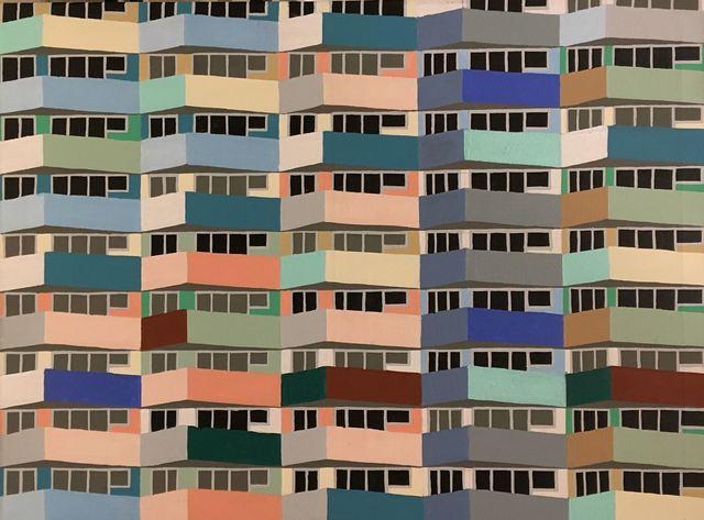 , 'Gdansk Balconies,' 2018, Clyde Hogan Fine Art