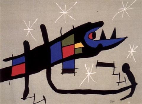 Joan Miró, 'Night Creature ', 1970, Fritz Gallery
