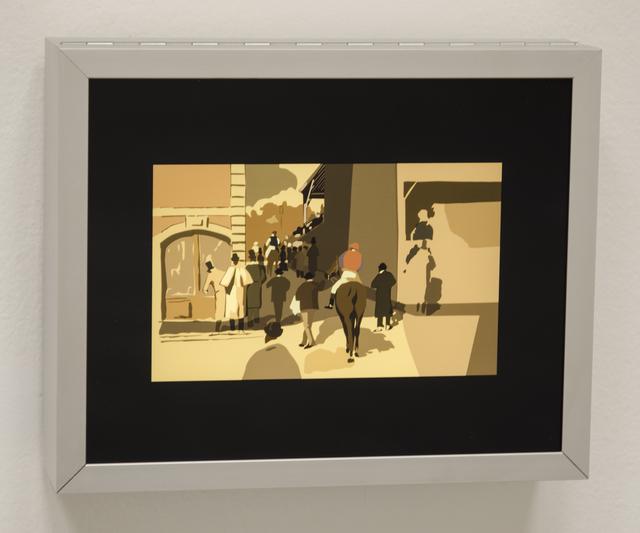 , 'La Sortie du Pesage,' 2015, Christopher Grimes Gallery