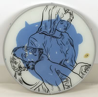 Conrad Botes, 'Pietà', 2003, Mixed Media, Reverse painting on glass, Contemporary Art and Editions
