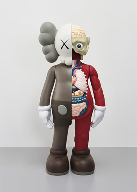 KAWS, '4FT Dissected Companion (Brown)', 2009, 5ART GALLERY