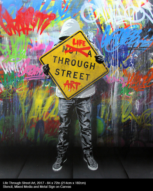 , 'Life Through Street Art,' 2017, Contessa Gallery
