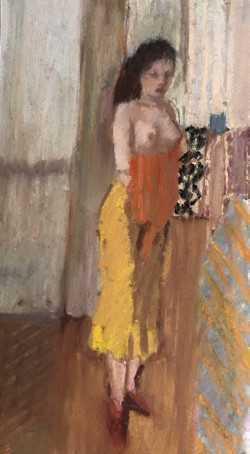 , 'Francesca Dressing,' 2017, Tayloe Piggott Gallery